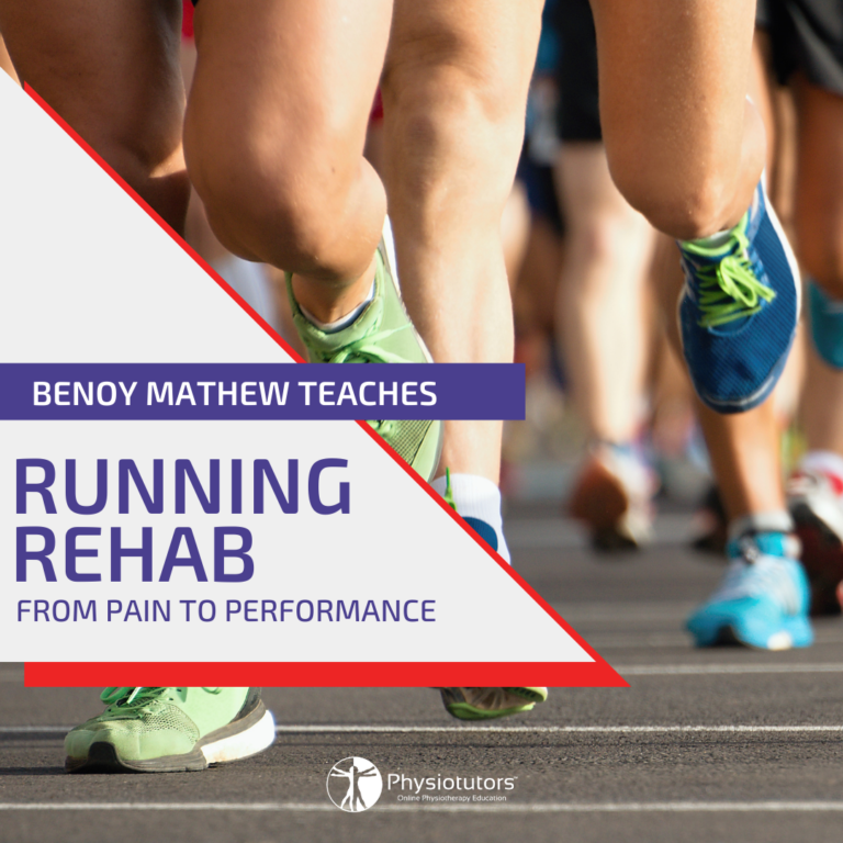 Running rehab from pain to performance