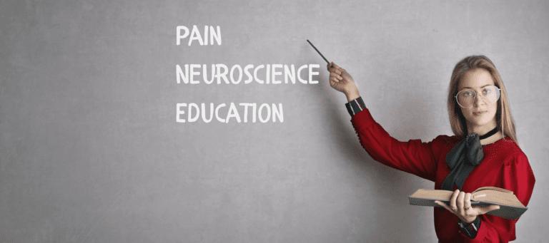Pain neuroscience education
